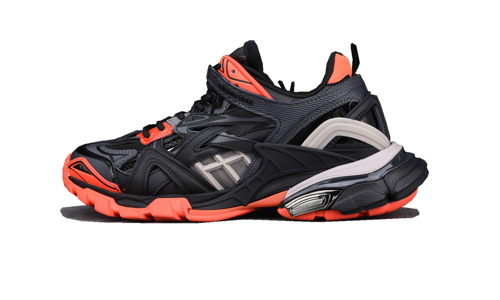 BALENCIAGE Track 2 Dark Gray Orange