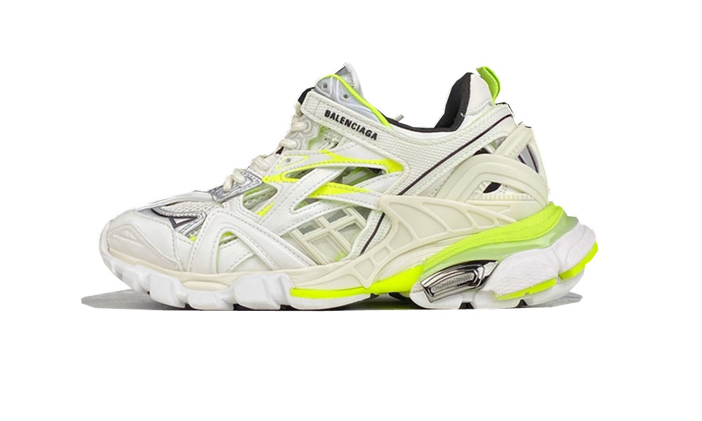 BALENCIAGE Track 2 White Yellow