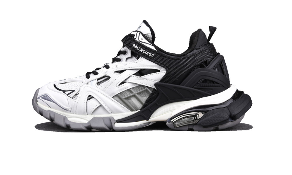 BALENCIAGA Track 2 trainers black white