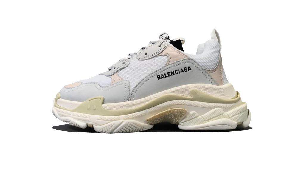 Balenciage Triple S White (W)