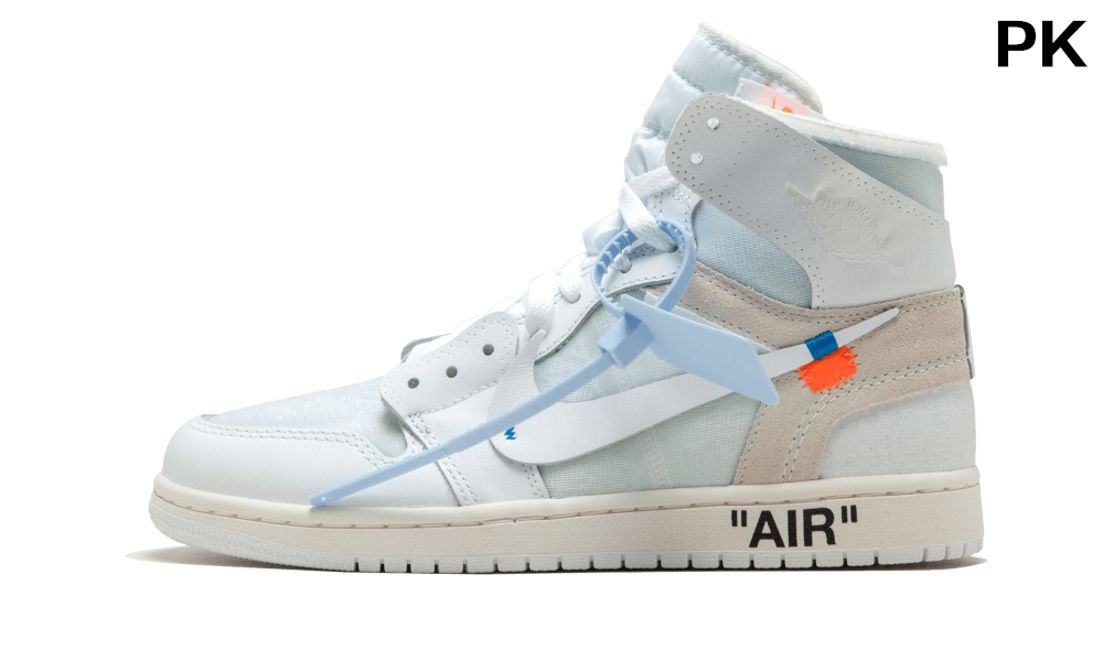 PK Nike OFF-WHITE Air Jordan 1 Triple...