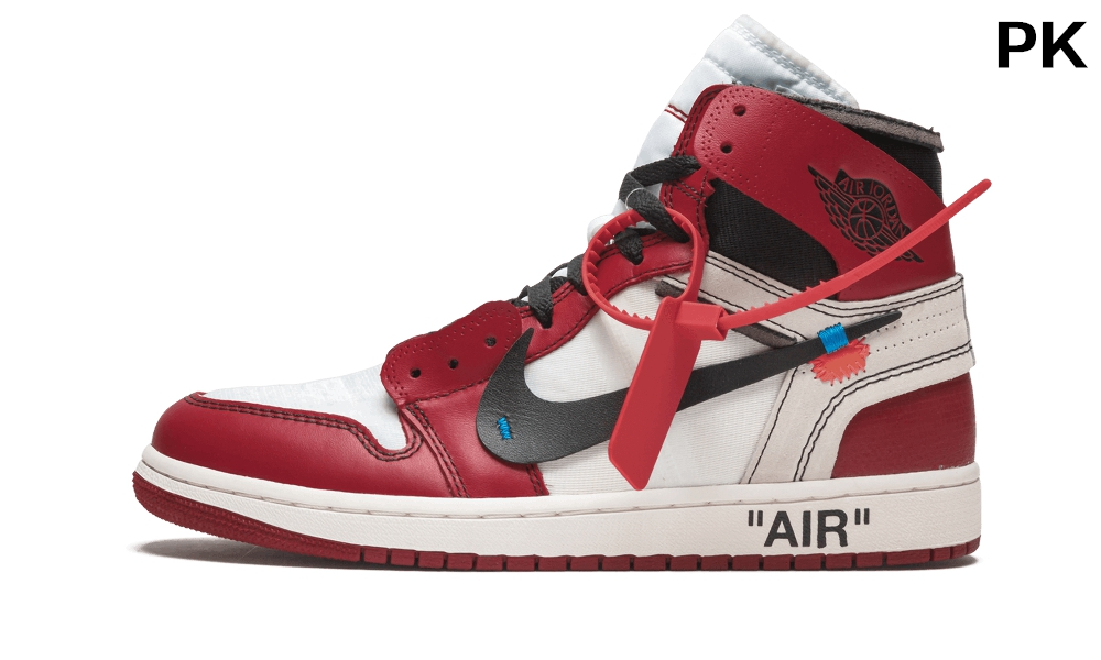 PK Off-White Air Jordan1 Chicago Retro