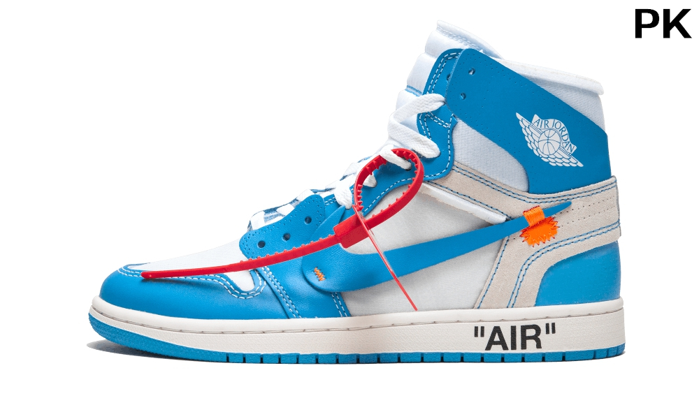 PK OFF-WHITE x Air Jordan 1 Powder Blue...