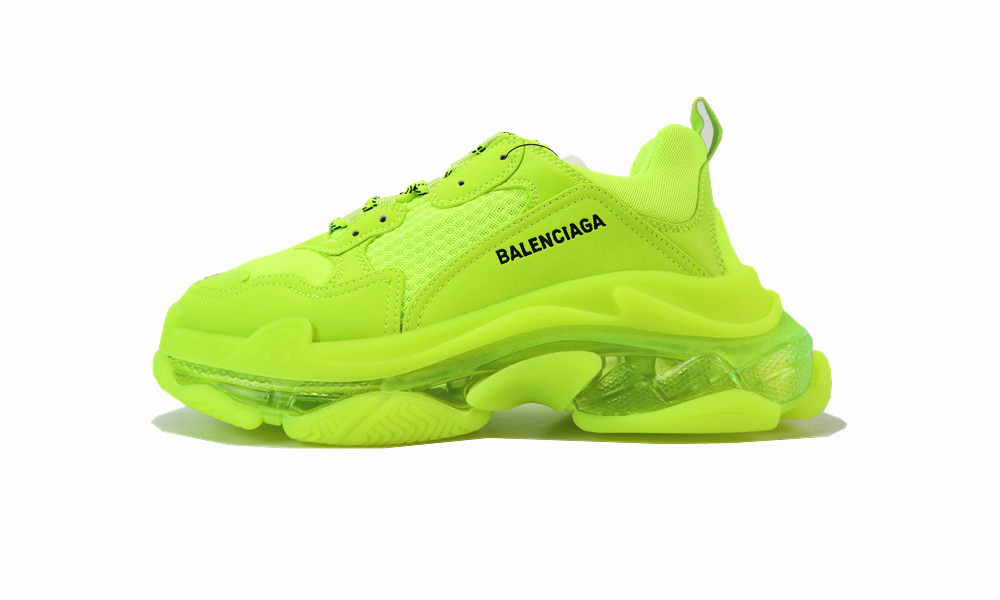 Balenciaga Triple S Clear Sole FLUO...