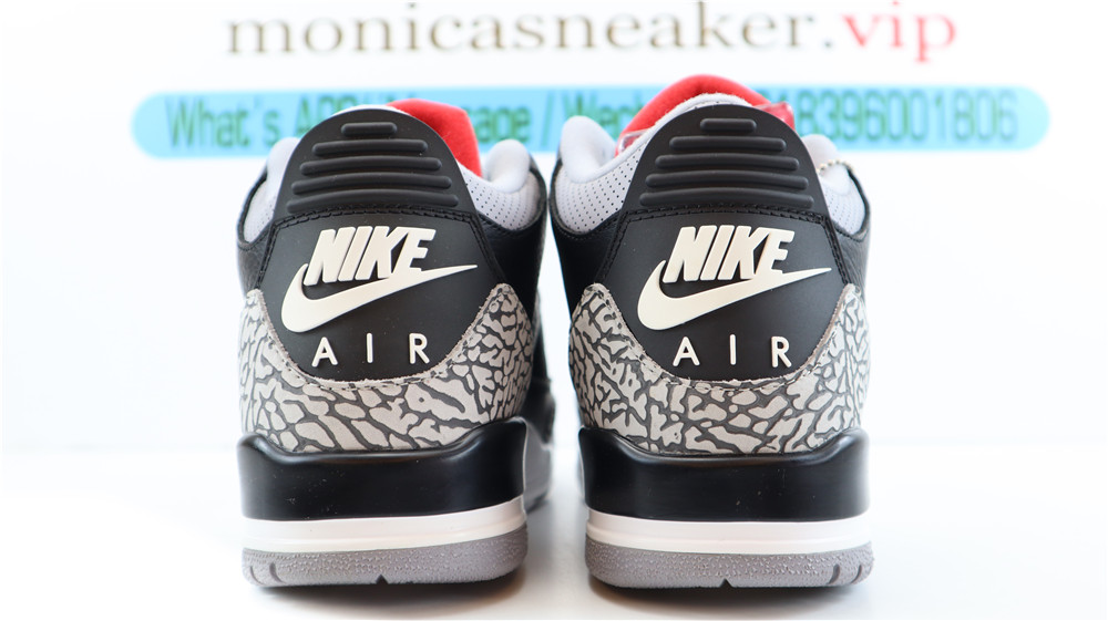best Jordan 3 Retro Black Cement (2018)