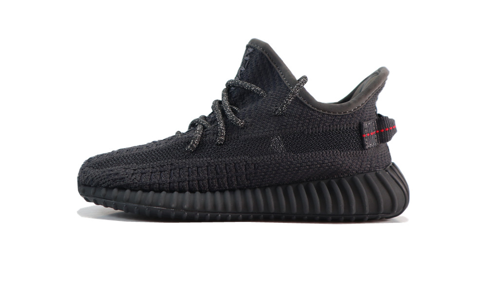 PK (KIDS) YEEZY 350 V2 BLACK