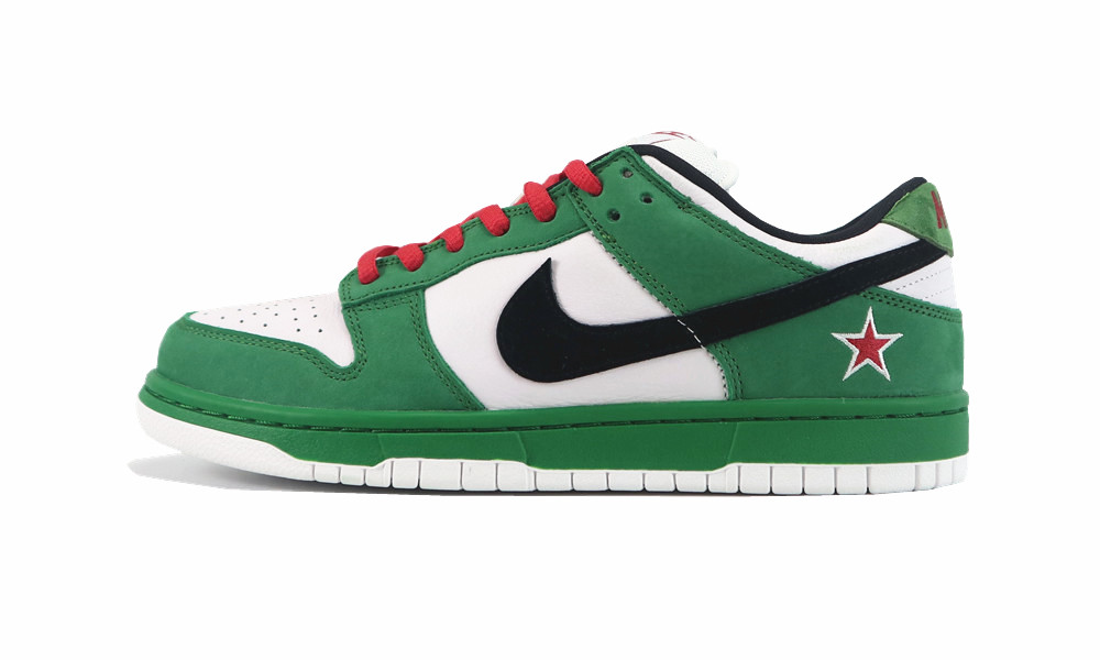Nike Dunk low sb Heineken