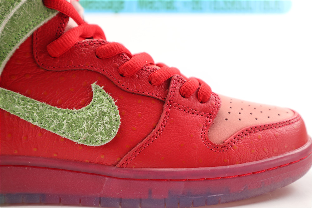 PK Nike SB Dunk High Strawberry Cough
