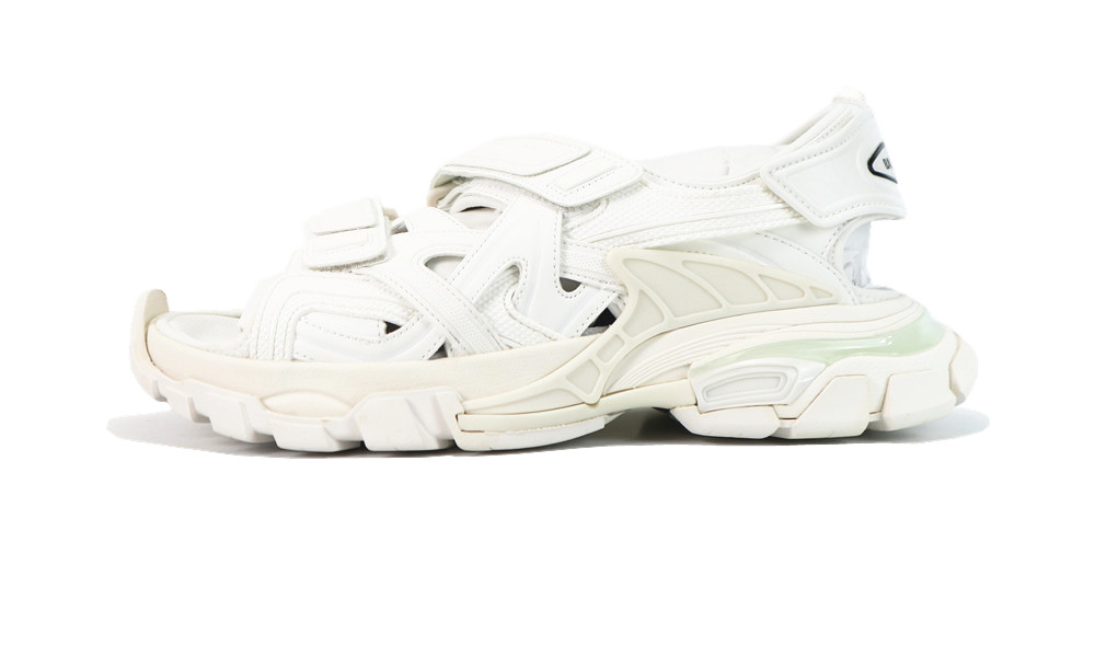 Balenciage Track 4.0 sandals white