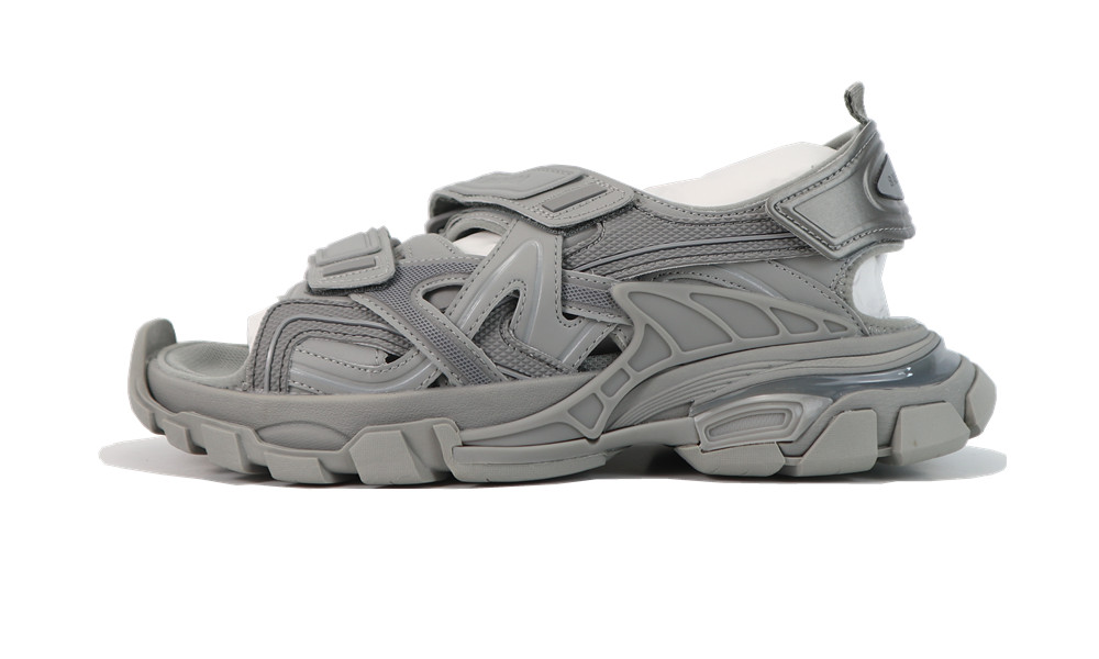 Balenciage Track 4.0 sandals gray