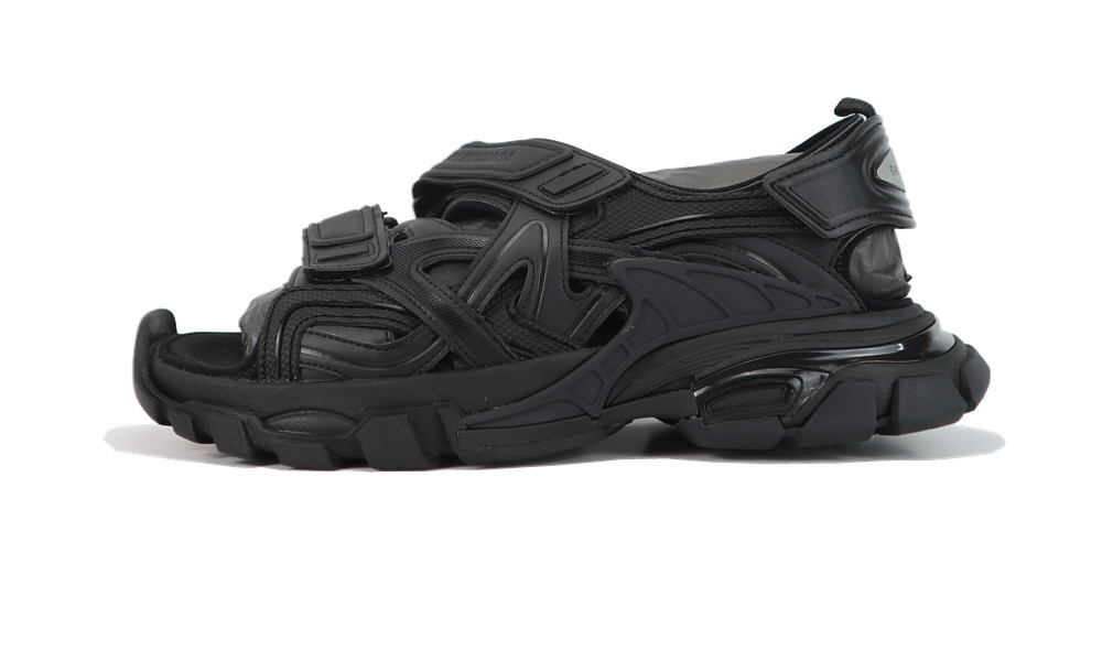 Balenciage Track 4.0 sandals black