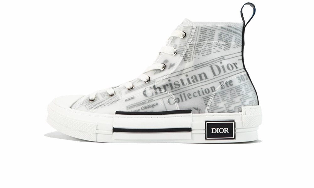Dio* B23 High Top Daniel Asham Newspaper