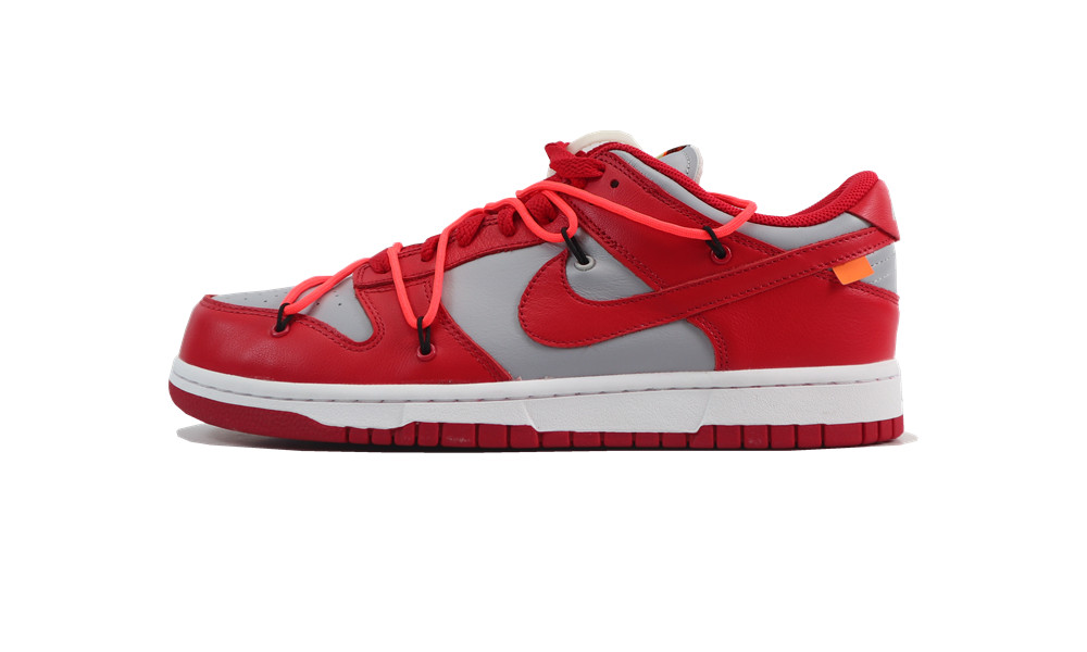 H12 OFF-WHITE DUNK LOW UNIVERSITY RED