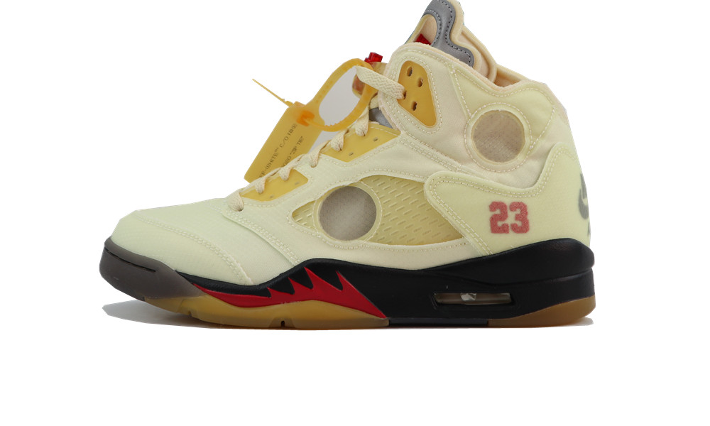 LJR Jordan 5 Retro OFF-WHITE Sail