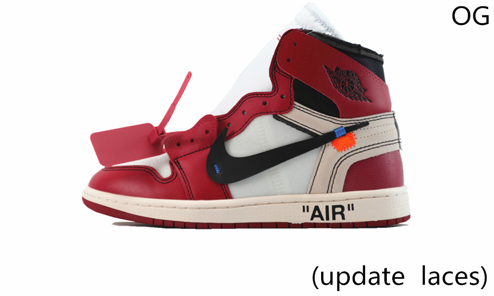 OG(update laces) OFF-WHITE AIR JORDAN1...