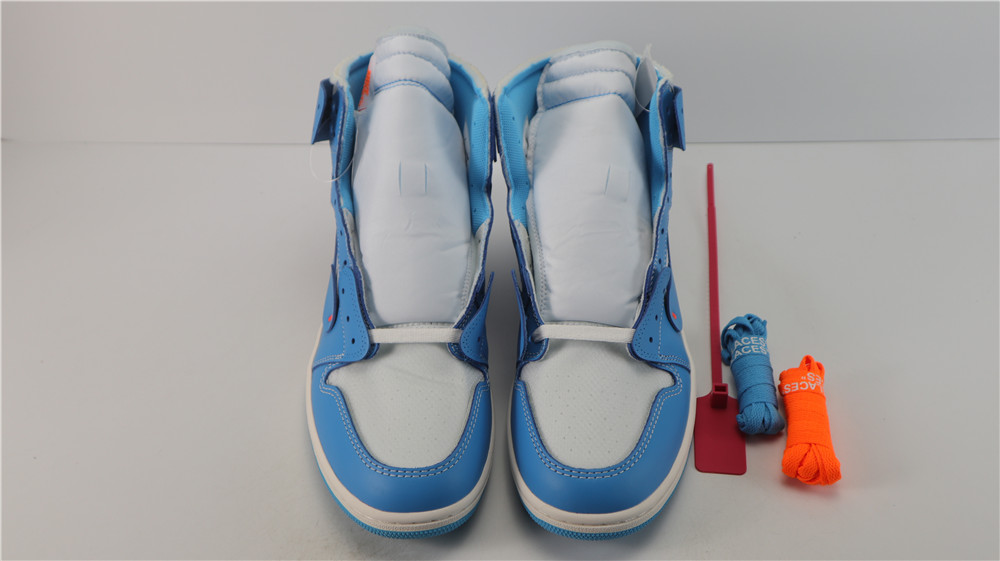 OG(update laces) OFF-WHITE X AIR JORDAN 1 POWDER BLUE UNC