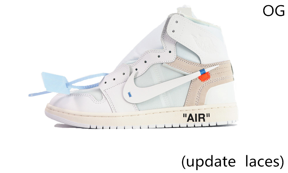 OG(update laces) OFF-WHITE AIR JORDAN 1...