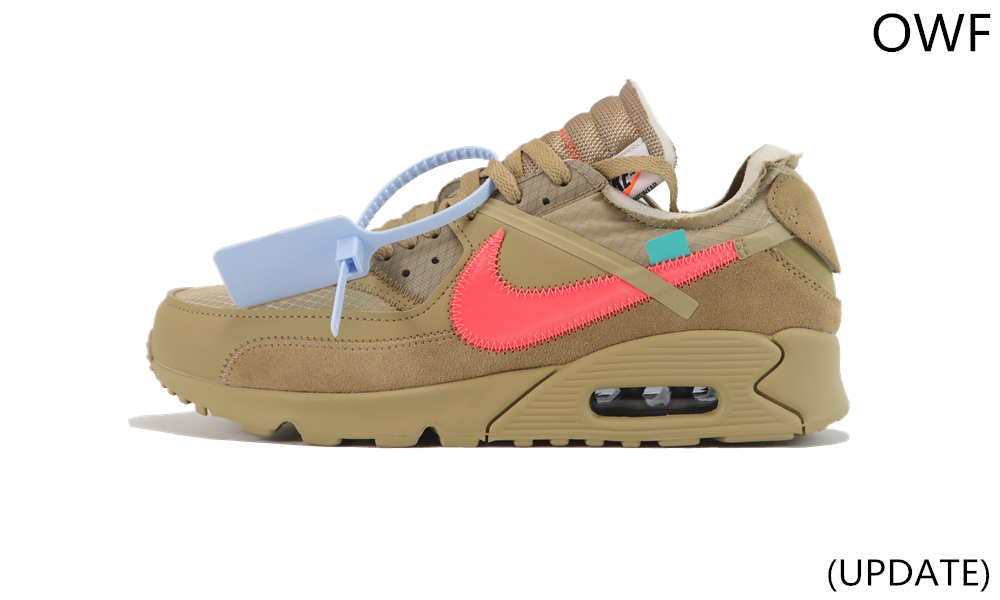 OWF OFF WHITE AIR MAX 90 Deser ore